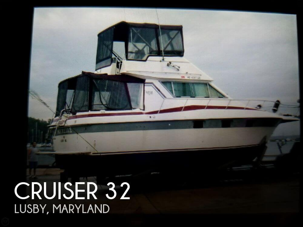Used Fishing boats For Sale in Maryland by owner | 1986 Cruiser 32