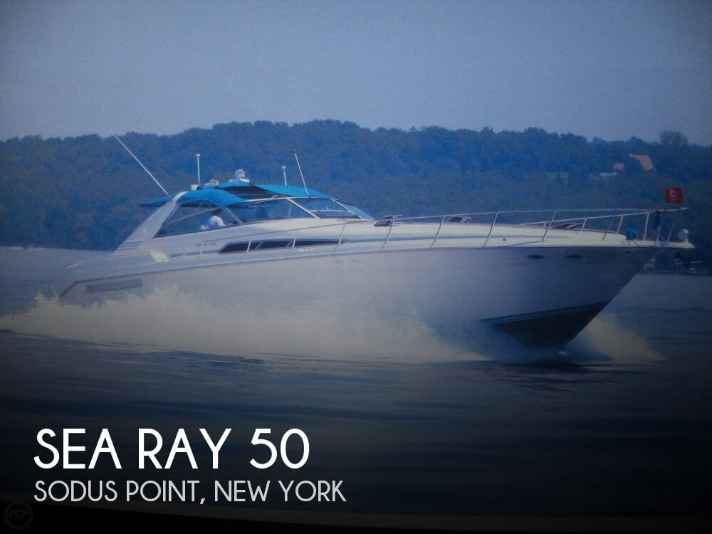Used Boats For Sale in Syracuse, New York by owner | 1993 Sea Ray 50