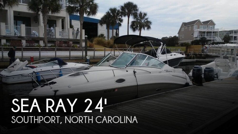 Used Sea Ray Boats For Sale in North Carolina by owner | 2006 Sea Ray 240 Sundancer