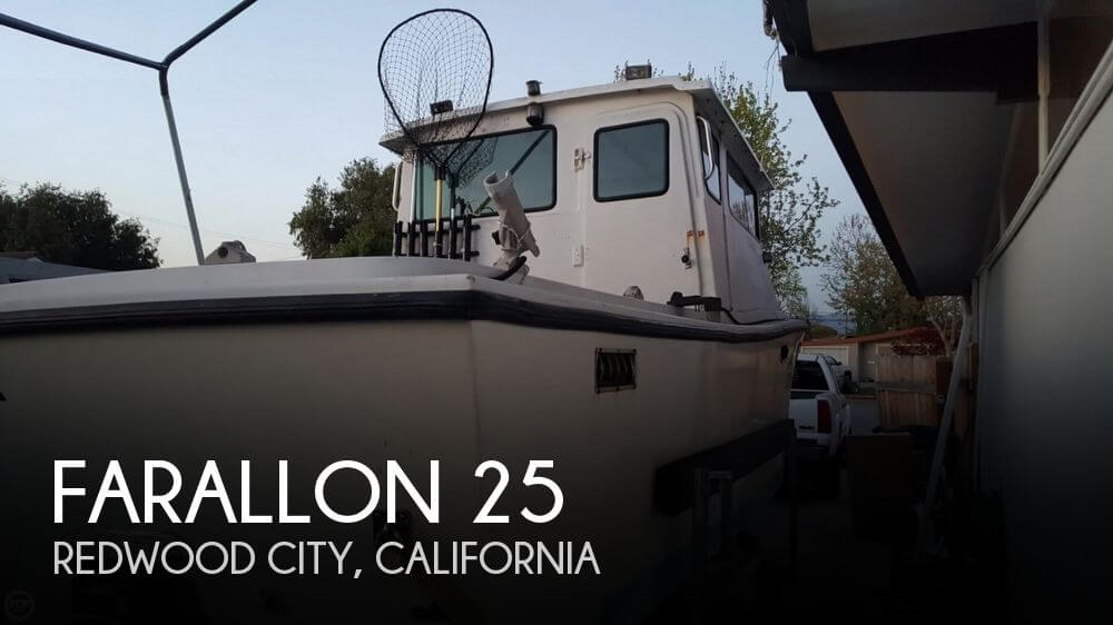 Used Boats For Sale in Salinas, California by owner | 1984 Farallon 25