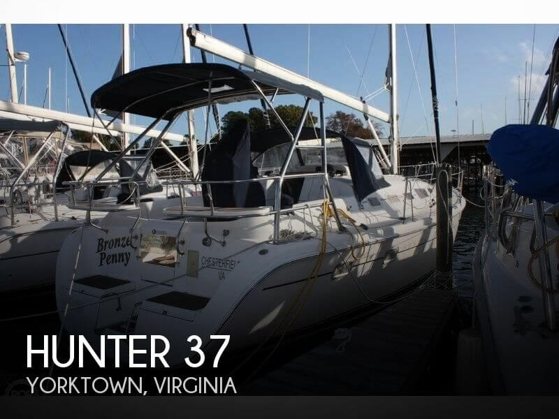 Used Hunter Sailboats For Sale by owner | 2006 Hunter 37