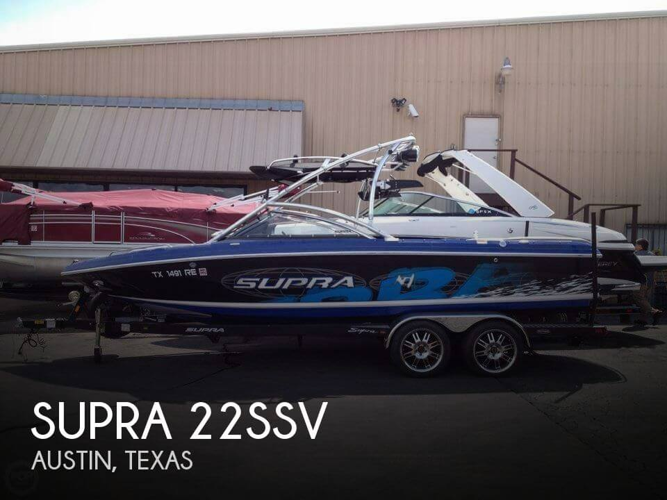 Used Boats For Sale in Killeen, Texas by owner | 2008 Supra 22