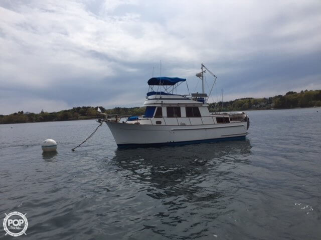 1989 Marine Trader boat for sale, model of the boat is 34 Double Cabin & Image # 2 of 40