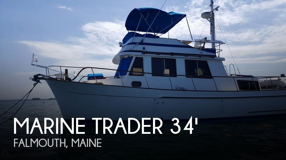 1989 Marine Trader boat for sale, model of the boat is 34 Double Cabin & Image # 1 of 40