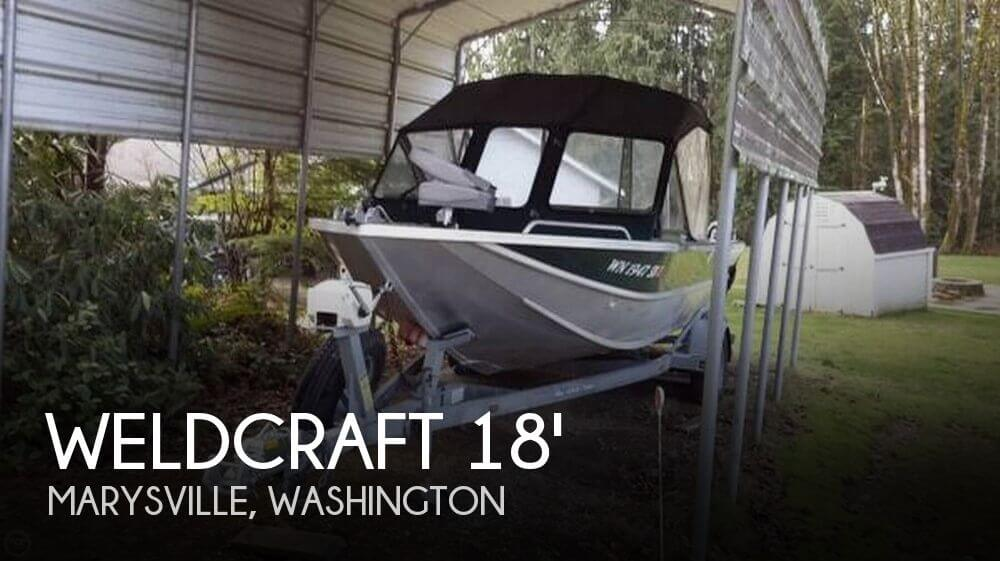 Used Fishing boats For Sale in Washington by owner | 2001 Weldcraft 18