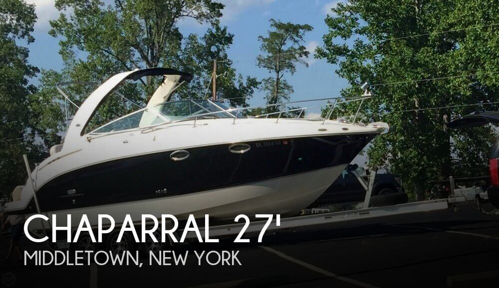 Used Chaparral Boats For Sale in New York by owner | 2006 Chaparral 27