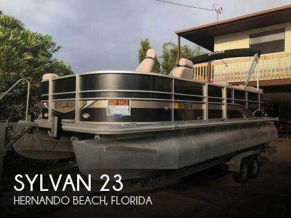 Used Sylvan Pontoon Boats For Sale by owner | 2014 Sylvan 23