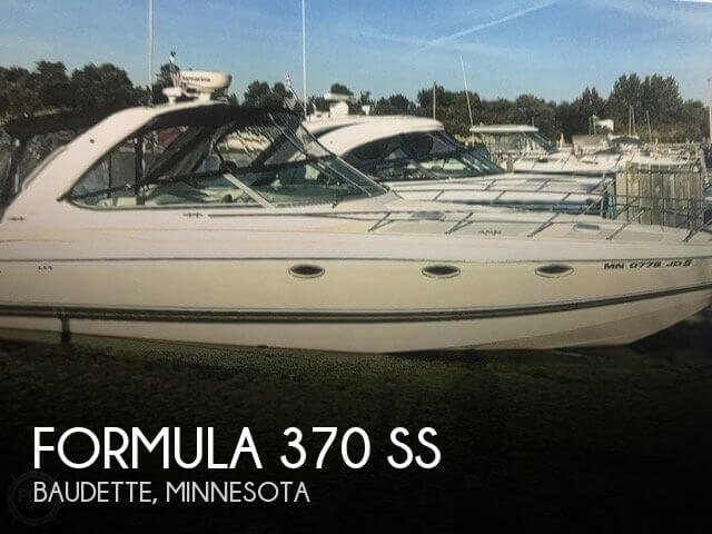 Used Boats For Sale in Minnesota by owner | 2001 Formula 37