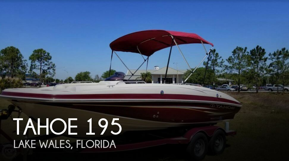 Used Tahoe Deck Boats For Sale by owner | 2012 Tahoe 19