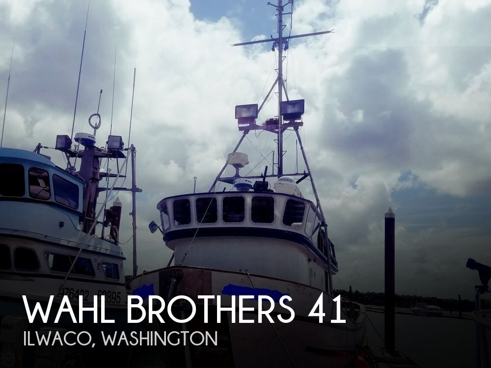 1972 Wahl Brothers boat for sale, model of the boat is 41 & Image # 1 of 40