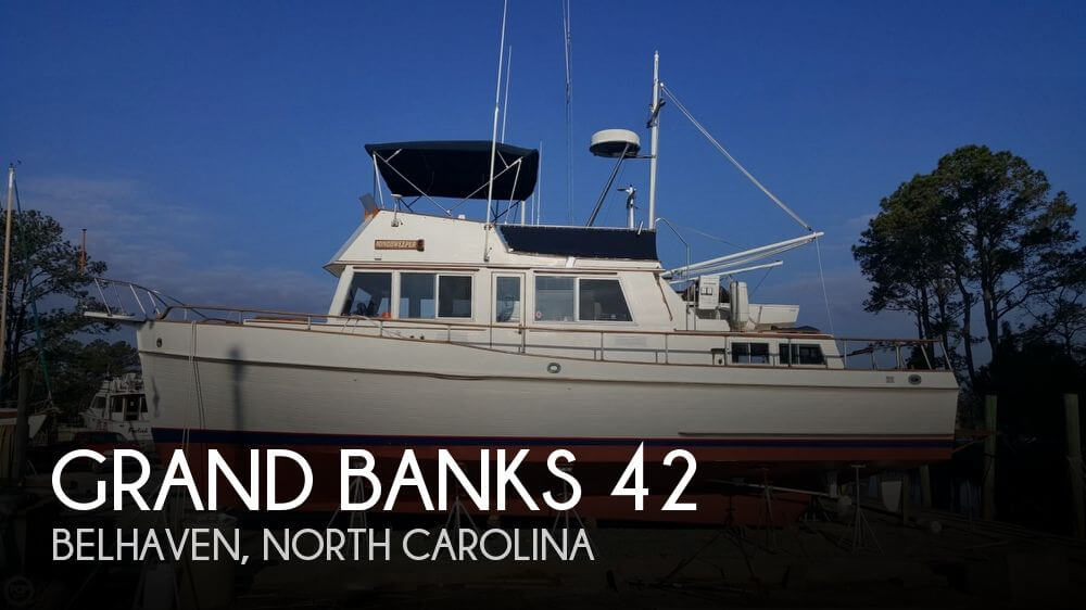 Used Power boats For Sale in North Carolina by owner | 1981 Grand Banks 42
