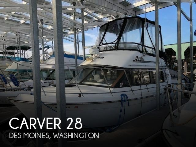 Used Fishing boats For Sale in Washington by owner | 1988 Carver 28