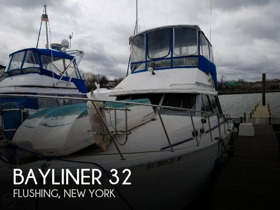 Used Bayliner Boats For Sale in New York by owner | 1987 Bayliner 32