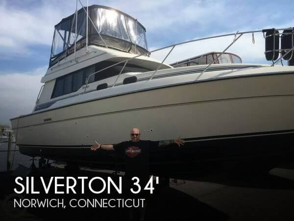 Used Silverton Fishing boats For Sale by owner | 1989 Silverton 34