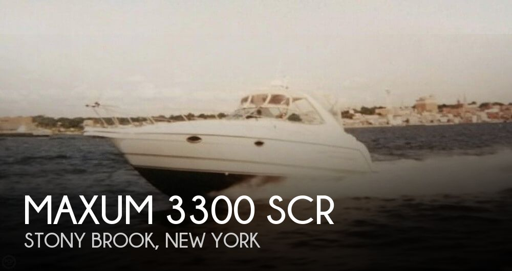 Used Maxum Boats For Sale in New York by owner | 2000 Maxum 33