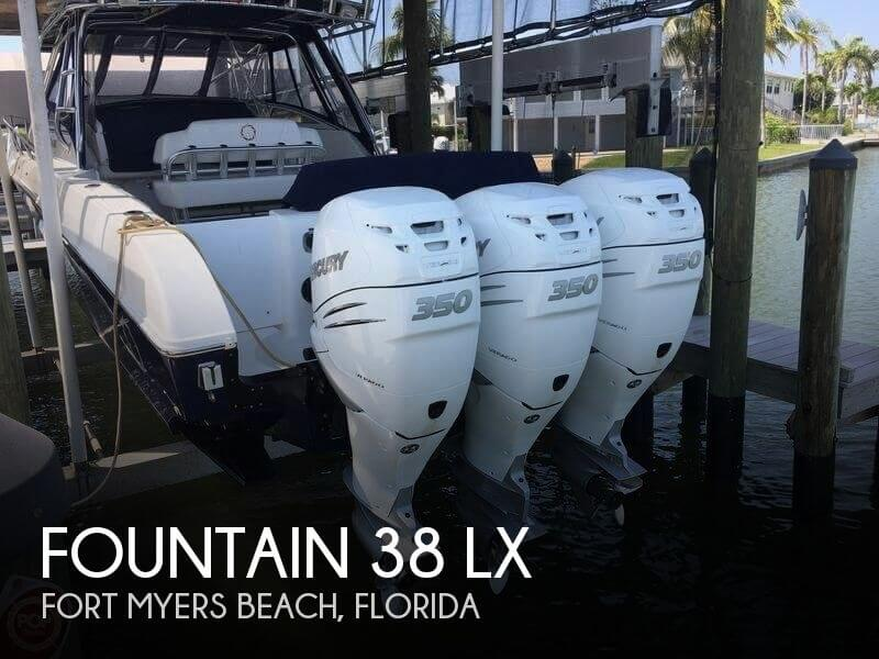 Used Boats For Sale in North Port, Florida by owner | 2009 Fountain 38