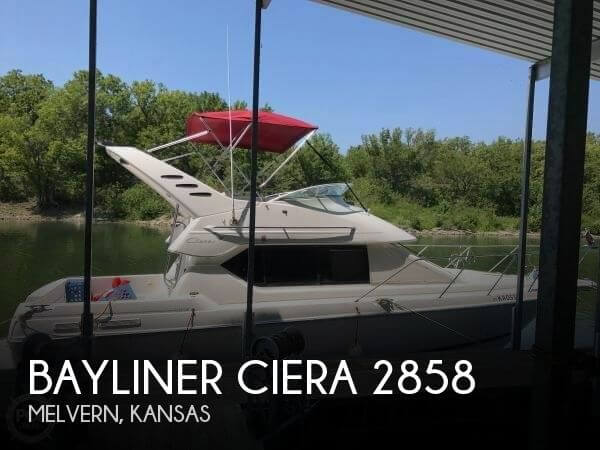 Used Boats For Sale in Kansas by owner | 1997 Bayliner 29