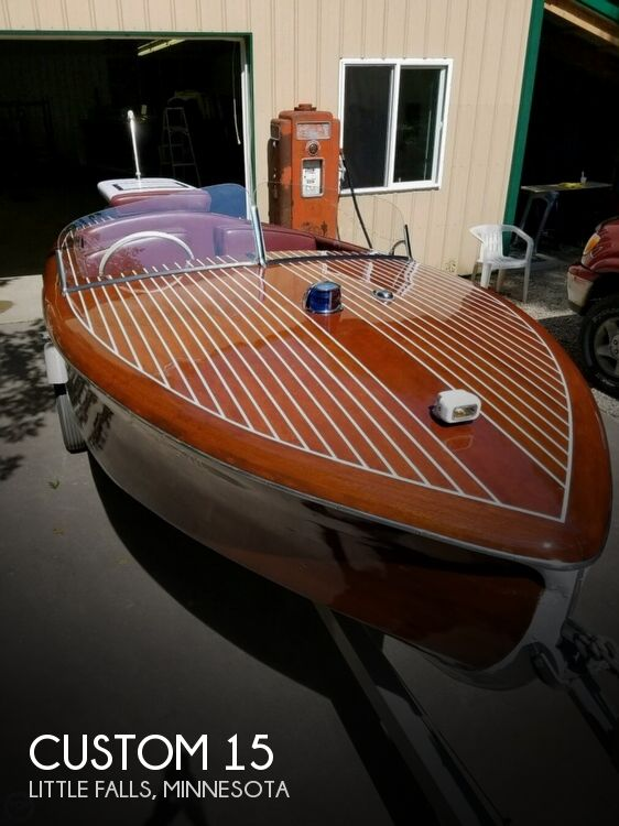1958 Custom boat for sale, model of the boat is 15 & Image # 1 of 3