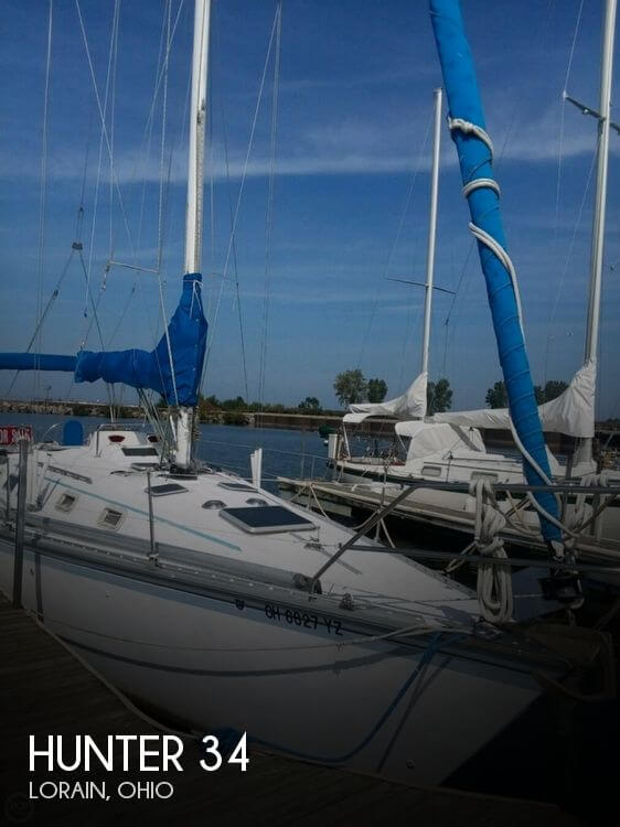 Used Hunter Sailboats For Sale in Ohio by owner | 1983 Hunter 34