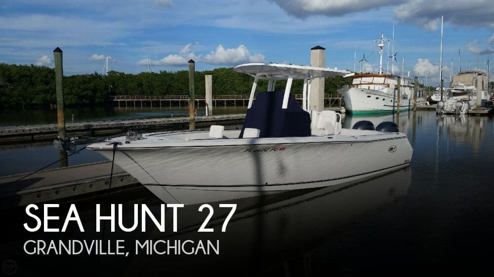 Used Boats For Sale in Michigan by owner | 2014 Sea Hunt 27
