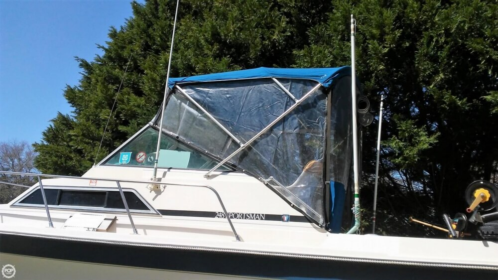 1983 Wellcraft boat for sale, model of the boat is 248 Sportsman & Image # 16 of 40