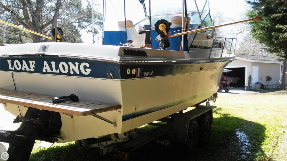 1983 Wellcraft boat for sale, model of the boat is 248 Sportsman & Image # 14 of 40