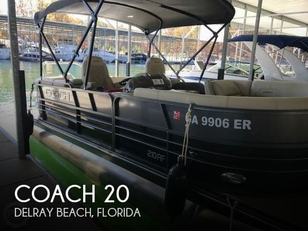 Used Pontoon Boats For Sale in Florida by owner   2017 Coach 20
