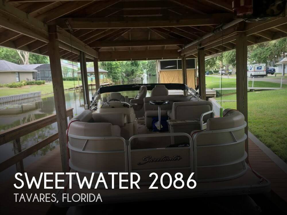 Used Pontoon Boats For Sale in Florida by owner | 2015 Sweetwater 20