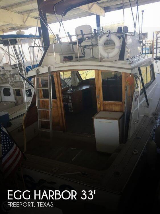 Used Egg Harbor Boats For Sale by owner | 1976 Egg Harbor 33