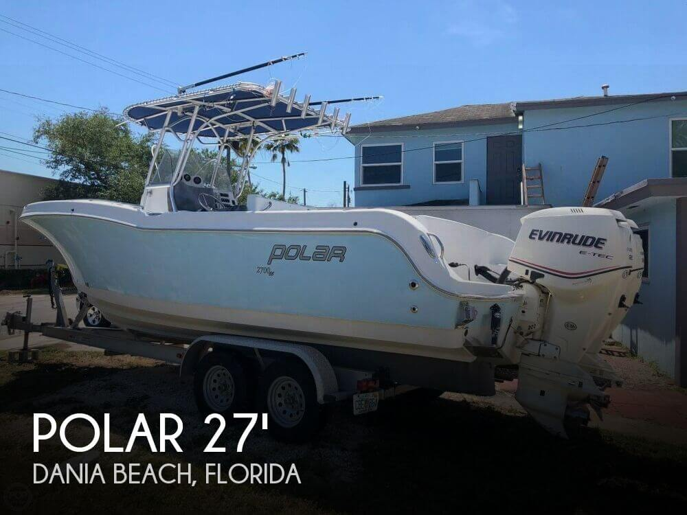 Used Polar Boats For Sale by owner | 2006 Polar 27