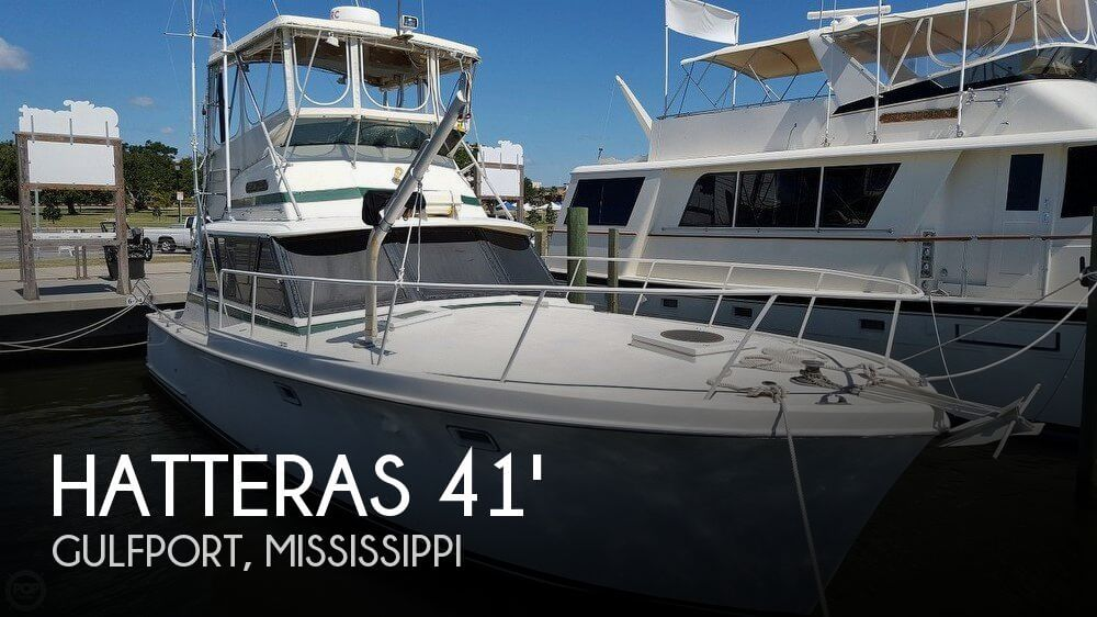 Used Boats For Sale in Mississippi by owner   1969 Hatteras 41
