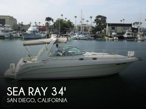 Used Boats For Sale in California by owner | 1999 Sea Ray 340 Sundancer
