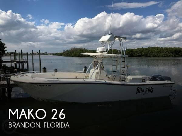 Used MAKO Boats For Sale in Florida by owner | 1990 Mako 26