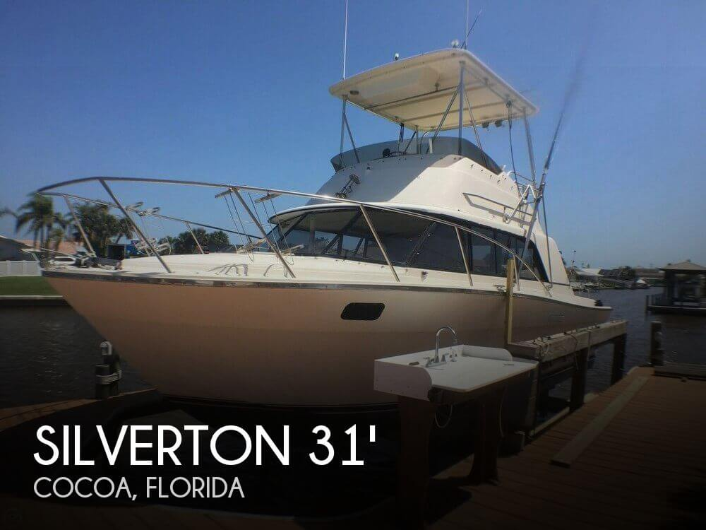 Used Fishing boats For Sale in Orlando, Florida by owner | 1979 Silverton 31