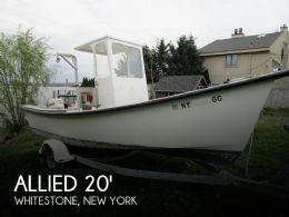 2012 Allied Boat Works 20 Fisherman