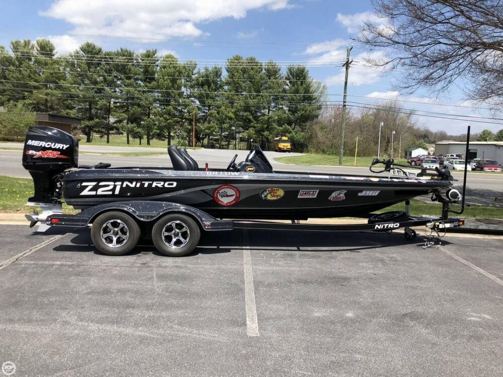 2016 Nitro boat for sale, model of the boat is Z-21 DC & Image # 3 of 40