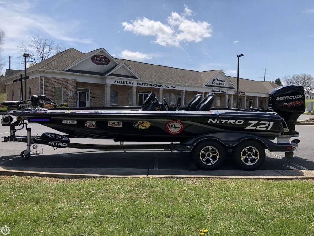 2016 Nitro boat for sale, model of the boat is Z-21 DC & Image # 7 of 40