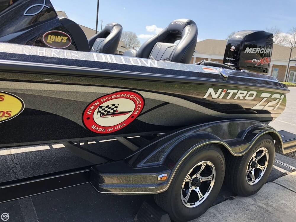 2016 Nitro boat for sale, model of the boat is Z-21 DC & Image # 19 of 40