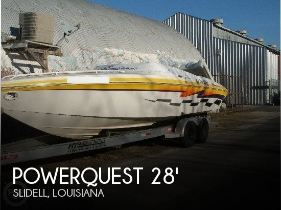 Used Powerquest Boats For Sale by owner | 2001 Powerquest 280 Silencer
