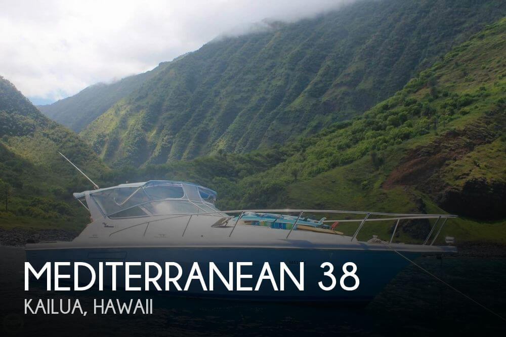 Used Boats For Sale in Hawaii by owner | 2001 Mediterranean 38
