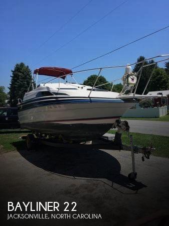 Used Bayliner Boats For Sale in North Carolina by owner | 1989 Bayliner 22