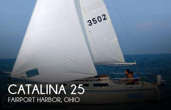 Used Sailboats For Sale in Ohio by owner | 1983 Catalina 25