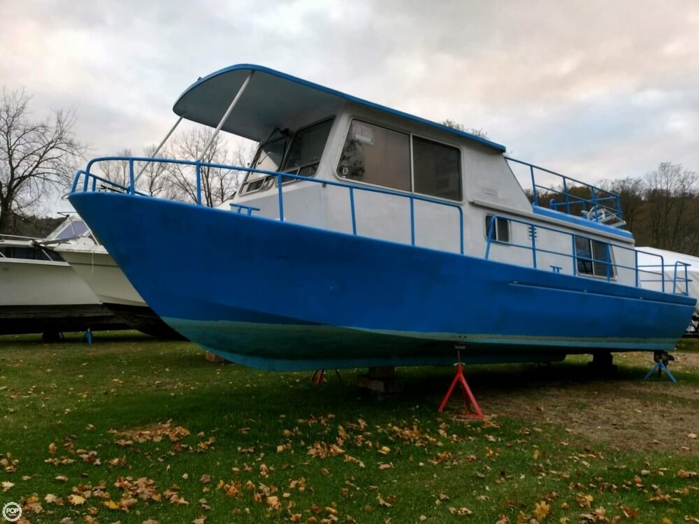 1969 Alcan boat for sale, model of the boat is 36 & Image # 4 of 40