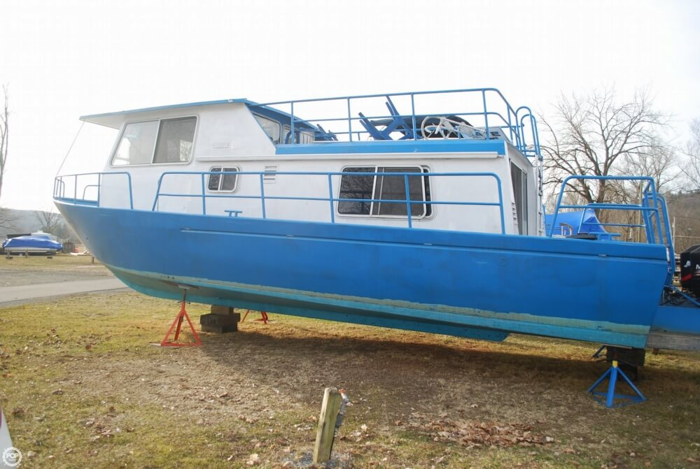 1969 Alcan boat for sale, model of the boat is 36 & Image # 16 of 40