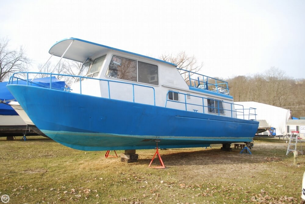 1969 Alcan boat for sale, model of the boat is 36 & Image # 17 of 40
