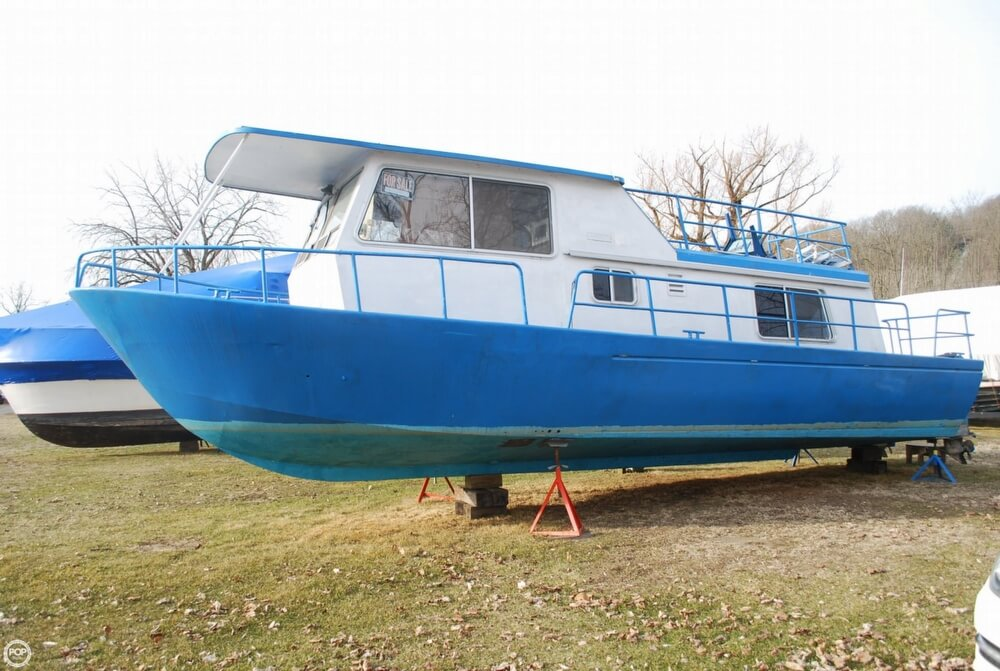 1969 Alcan boat for sale, model of the boat is 36 & Image # 18 of 40