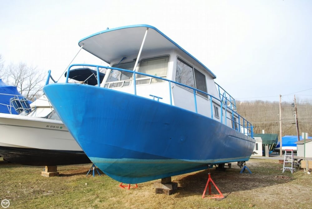 1969 Alcan boat for sale, model of the boat is 36 & Image # 19 of 40
