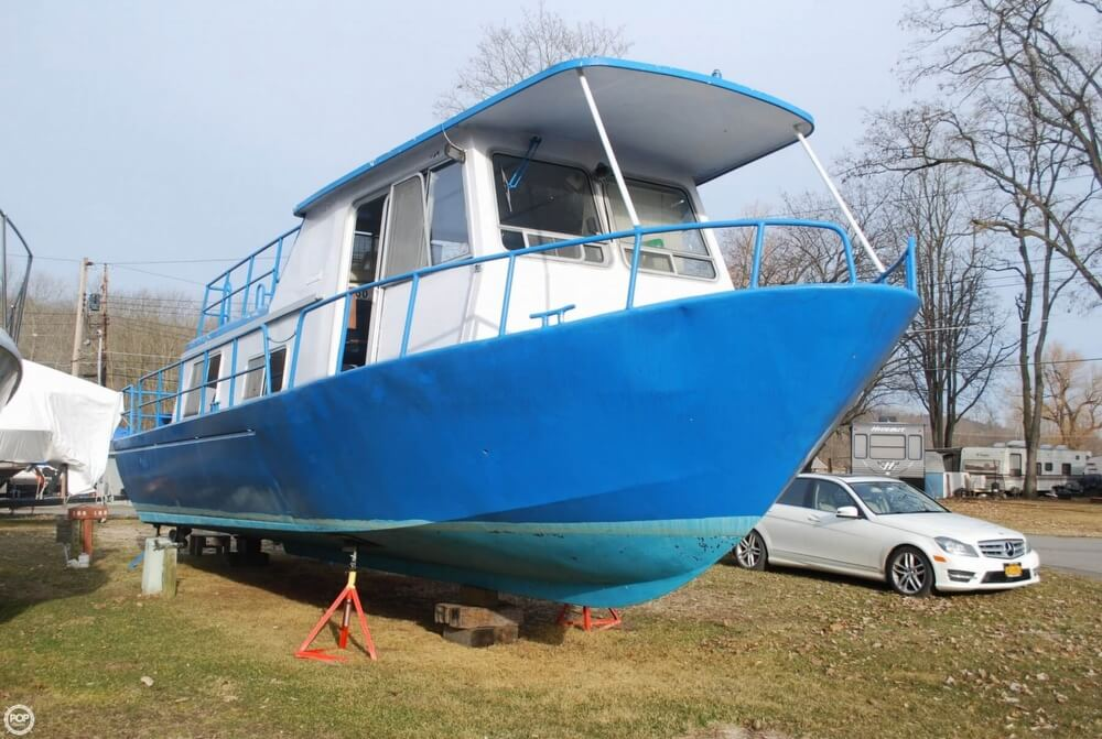 1969 Alcan boat for sale, model of the boat is 36 & Image # 21 of 40