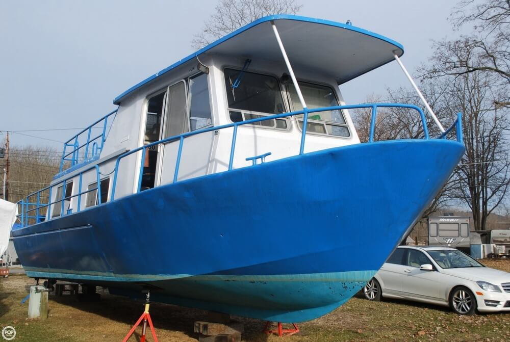 1969 Alcan boat for sale, model of the boat is 36 & Image # 22 of 40
