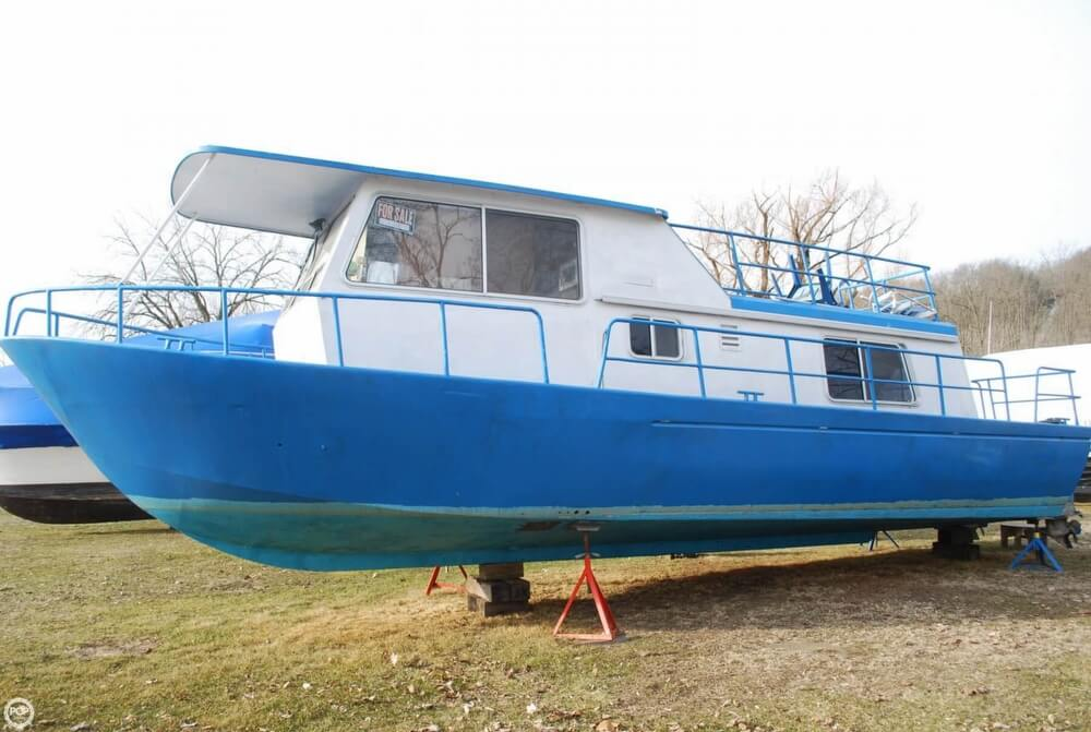 1969 Alcan boat for sale, model of the boat is 36 & Image # 26 of 40